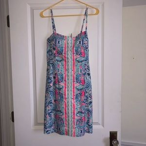 Lilly Pulitzer stripes and streamers shelli dress